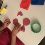 Playdough activity